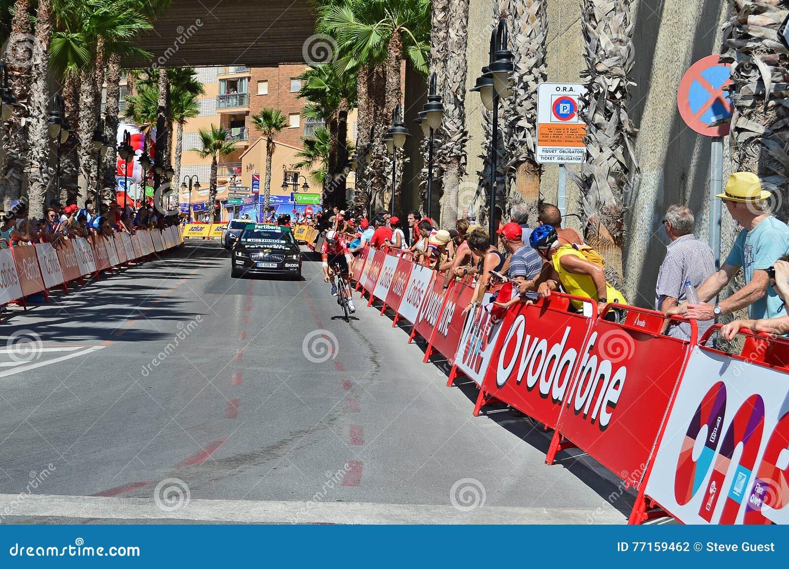 Lotto Soudal времени Vuelta Espana Ла пробный
