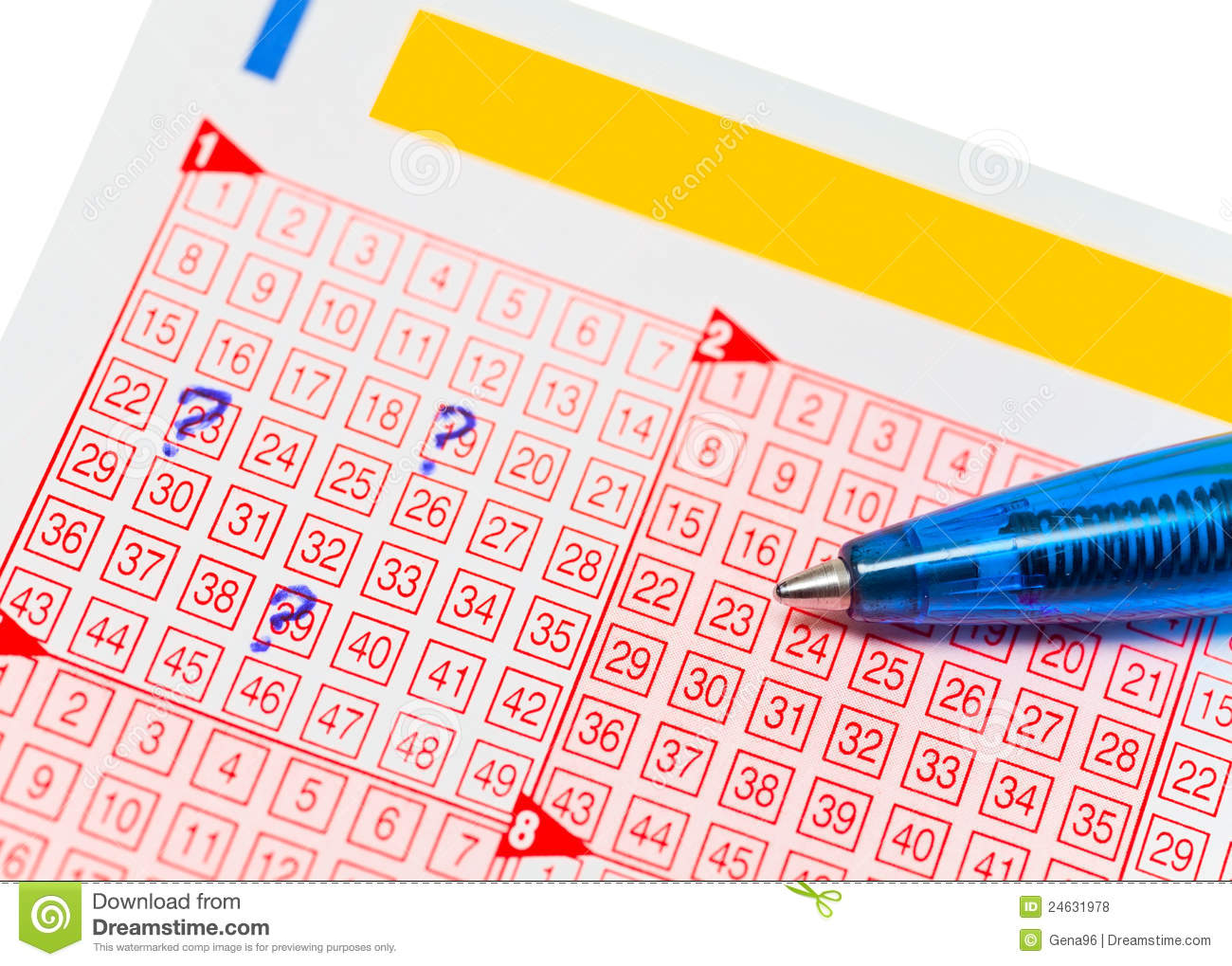 lotto karte Lotto ticket stock photo. Image of lottery, gamble, concept   24631978