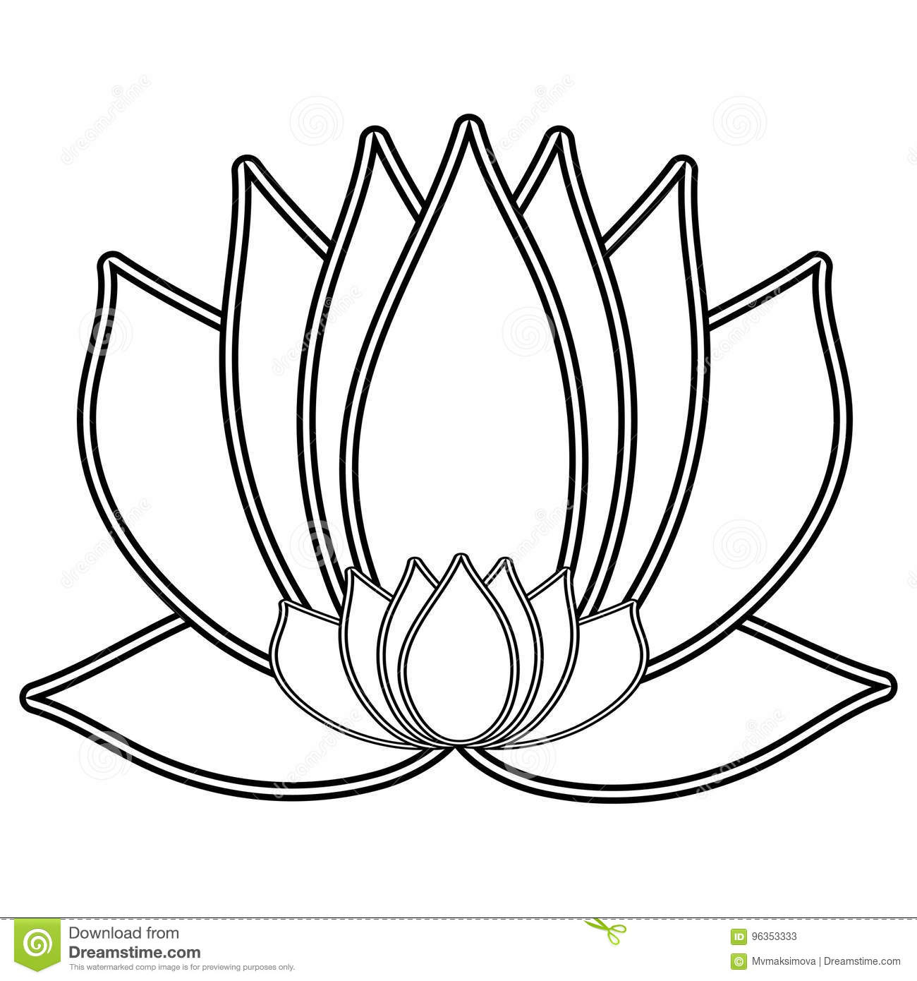 Lotus the black and white flower is a symbol of purity and download comp izmirmasajfo
