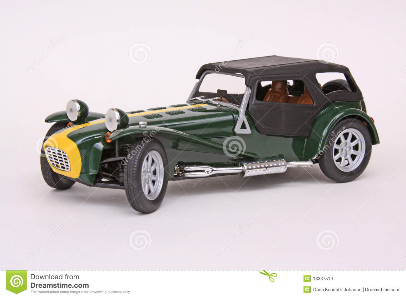 lotus caterham super seven stock image image of sport 13337519. Black Bedroom Furniture Sets. Home Design Ideas