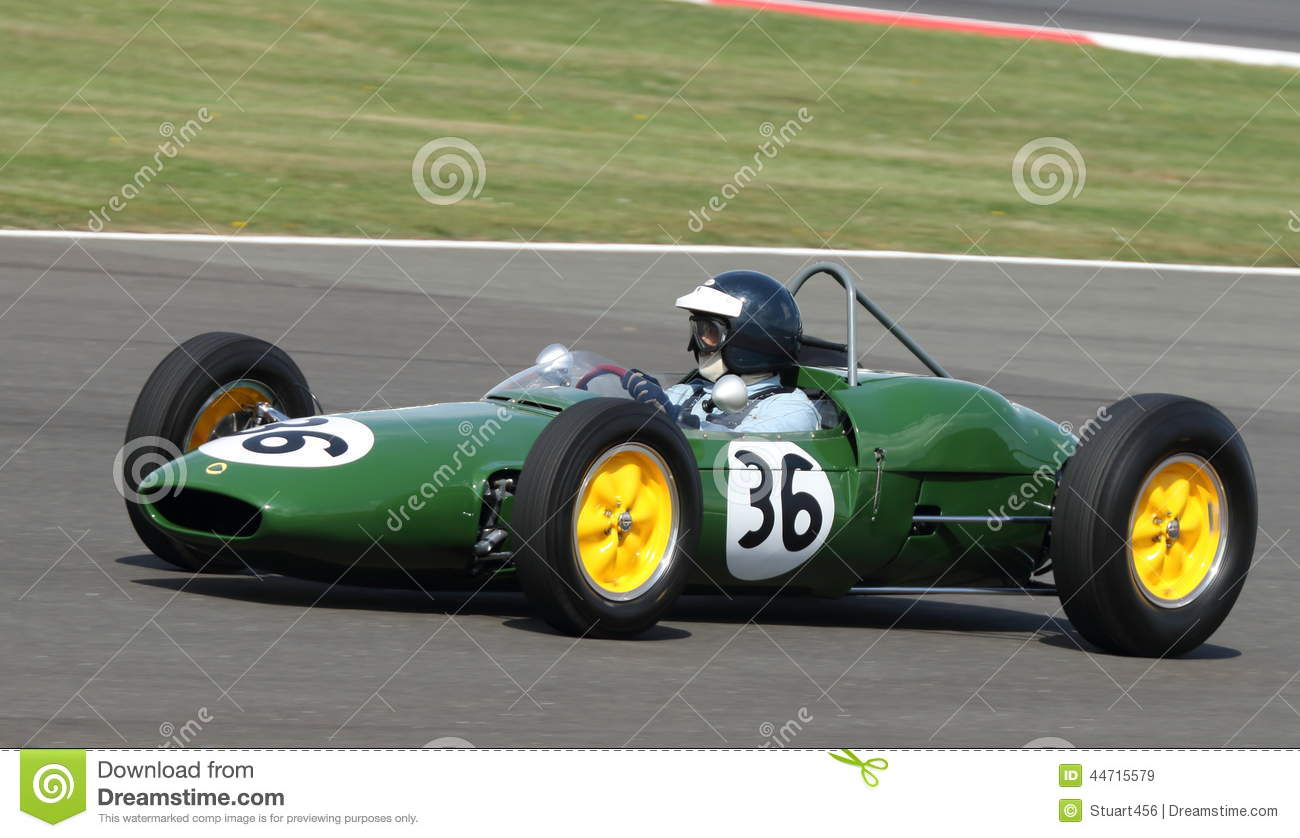 Lotus 21 Classic Formula 1 Grand Prix Car Editorial Stock Image ...