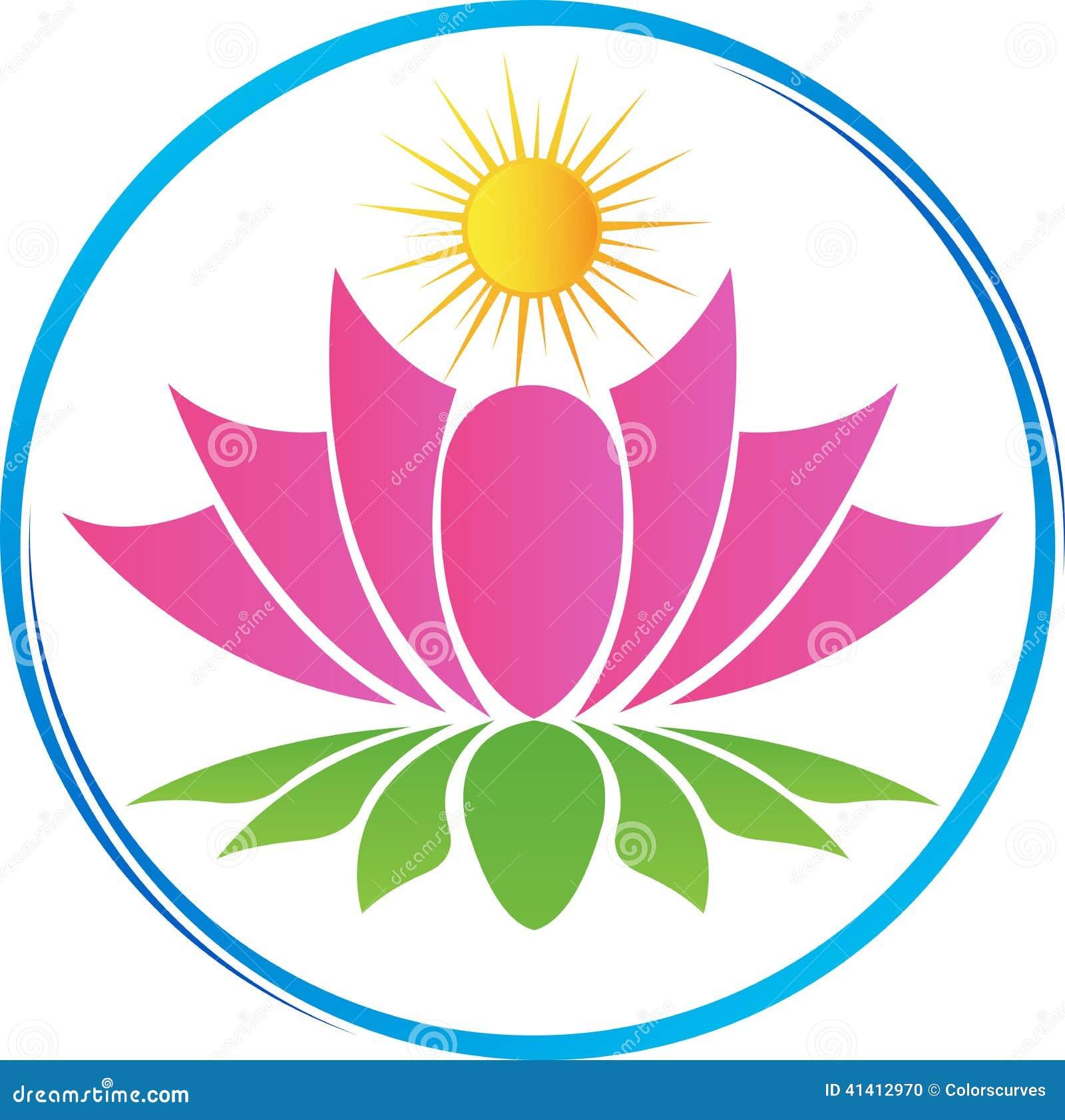 Lotus com sol