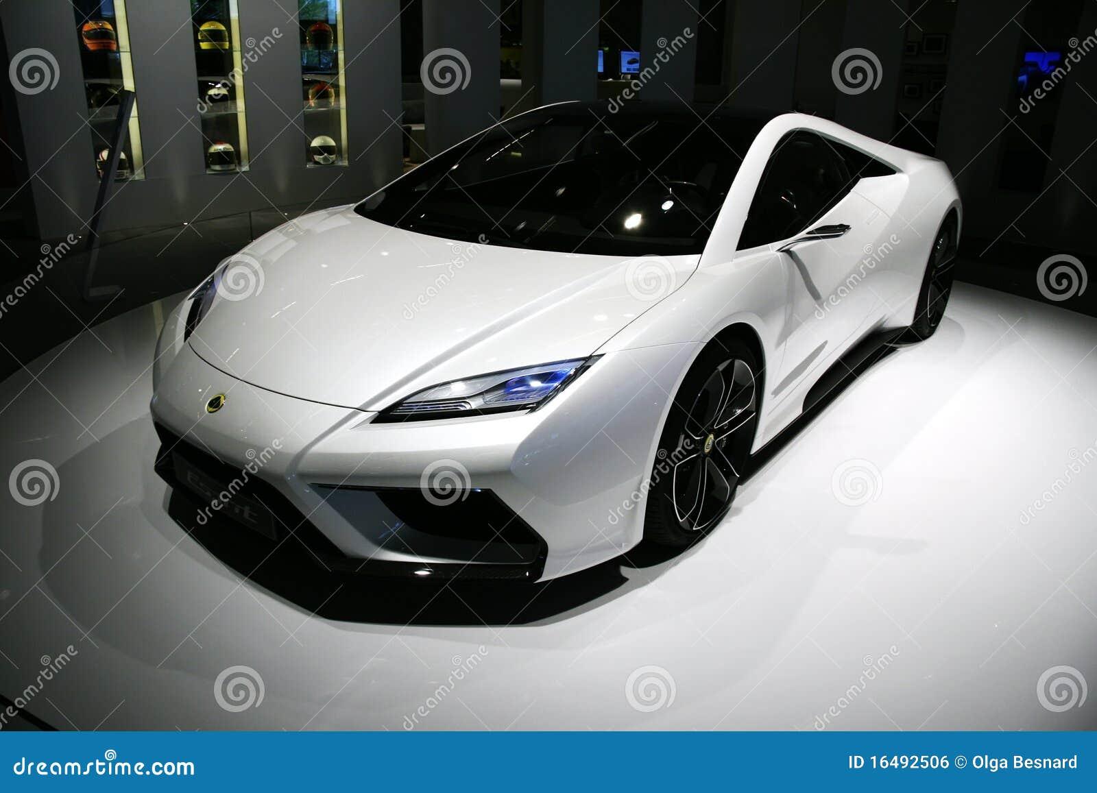 5f91eba63cea Lotus Esprit Concept At Paris Motor Show Editorial Photo - Image of ...