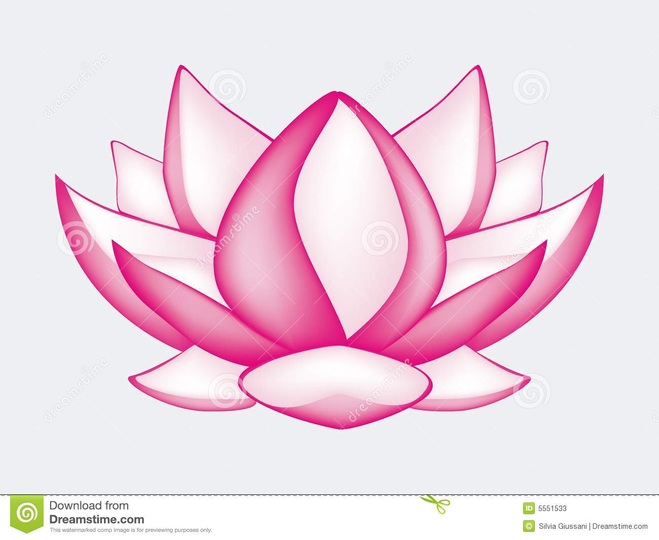 Lotus Flower Stock Vector Image Of Environment Beauty