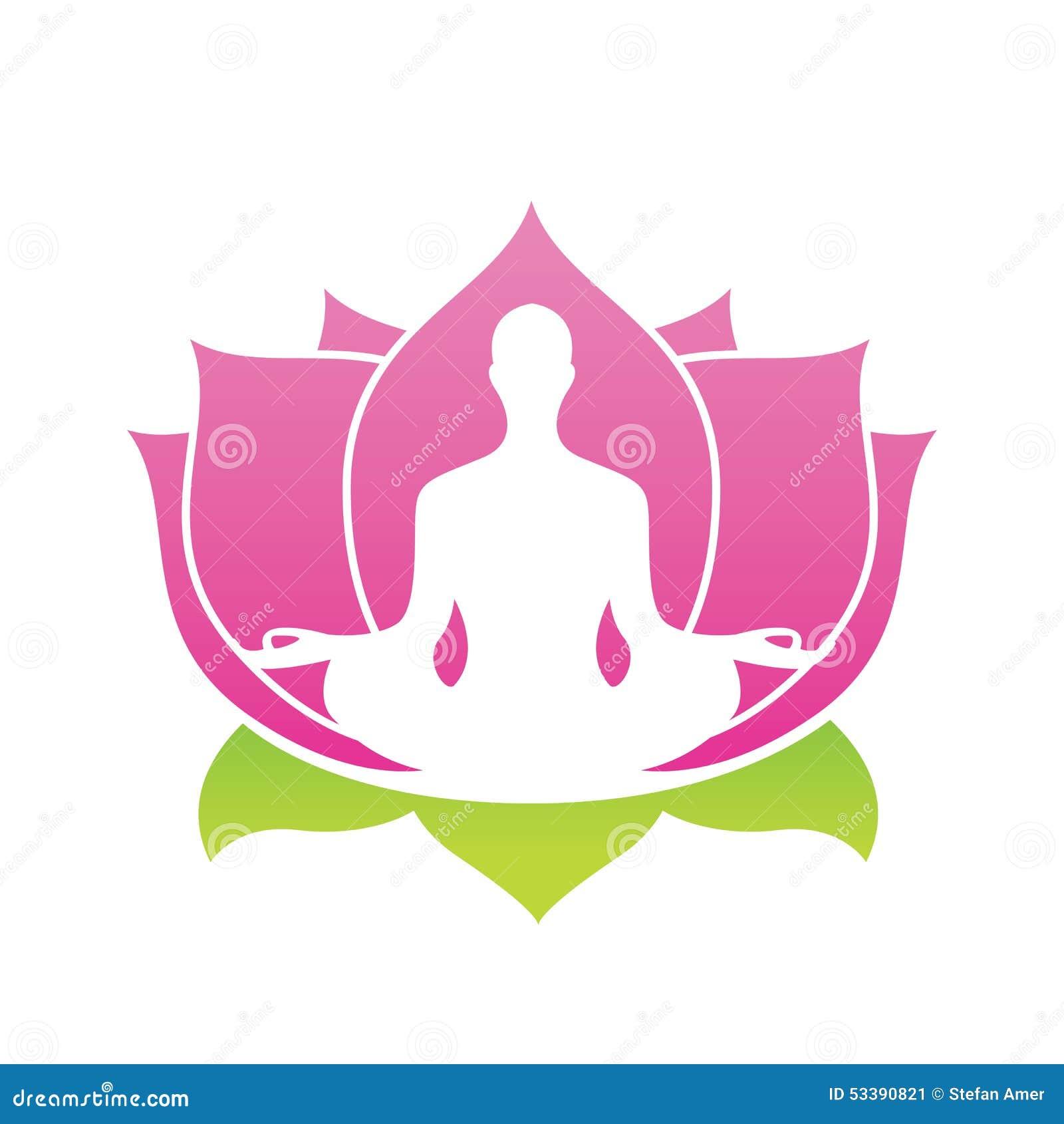 Lotus flower abstract vector logo yoga asana illustration stock lotus flower abstract vector logo yoga asana illustration stock vector illustration of creative corporate 53390821 mightylinksfo