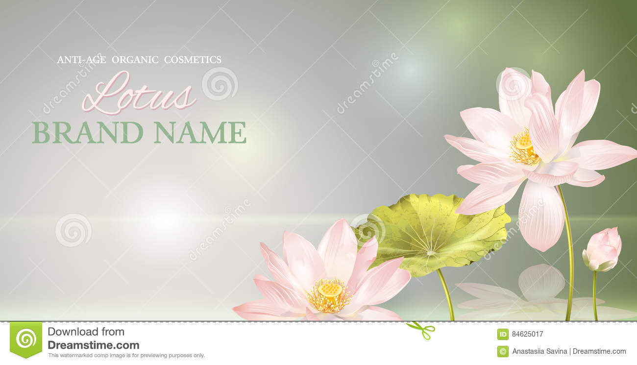 Lotus flower fragrance images flower decoration ideas lotus flower banner stock vector illustration of fragrance 84625017 download comp mightylinksfo izmirmasajfo