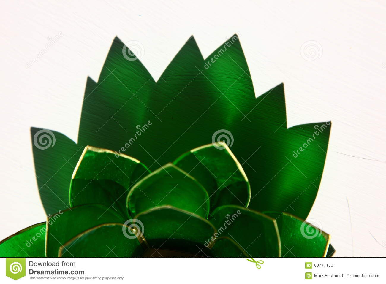 Lotus Flower Candle Holder Stock Photo Image Of Object 60777150