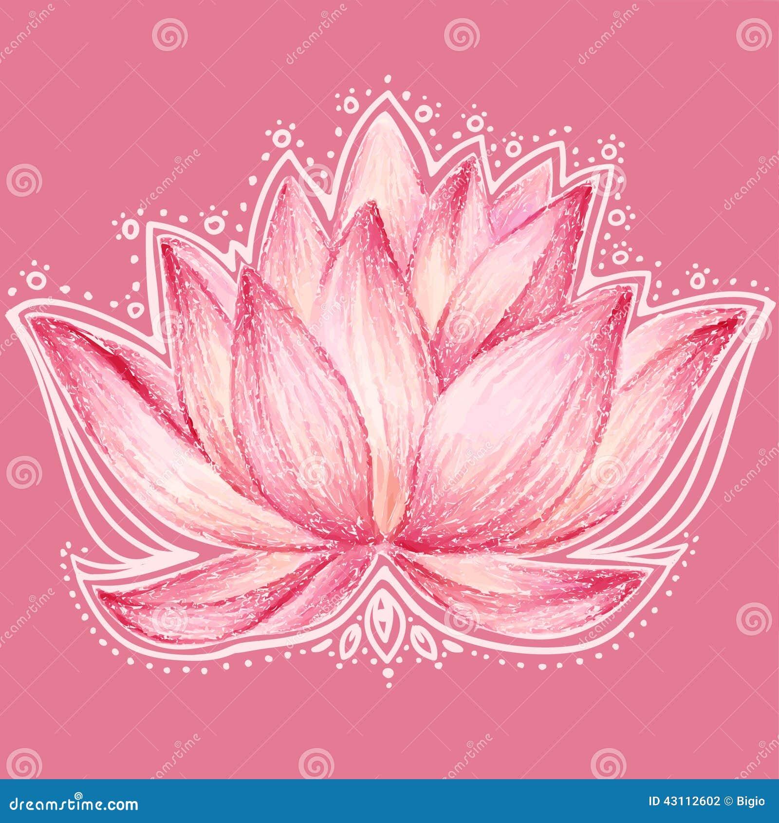 Lotus flower design stock vector illustration of invitation 43112602 lotus flower design izmirmasajfo