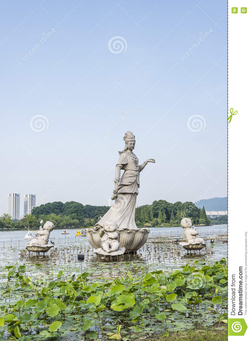Lotus Flower Fairy Editorial Photo Image Of View China 73714526