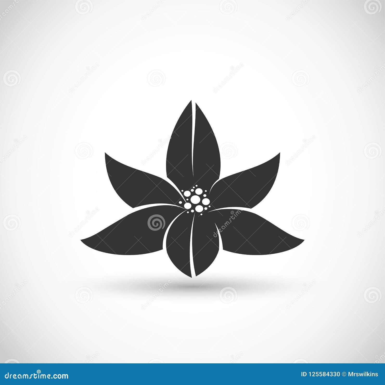 Lotus Flower Icon Vector Stock Illustration Illustration Of Emblem