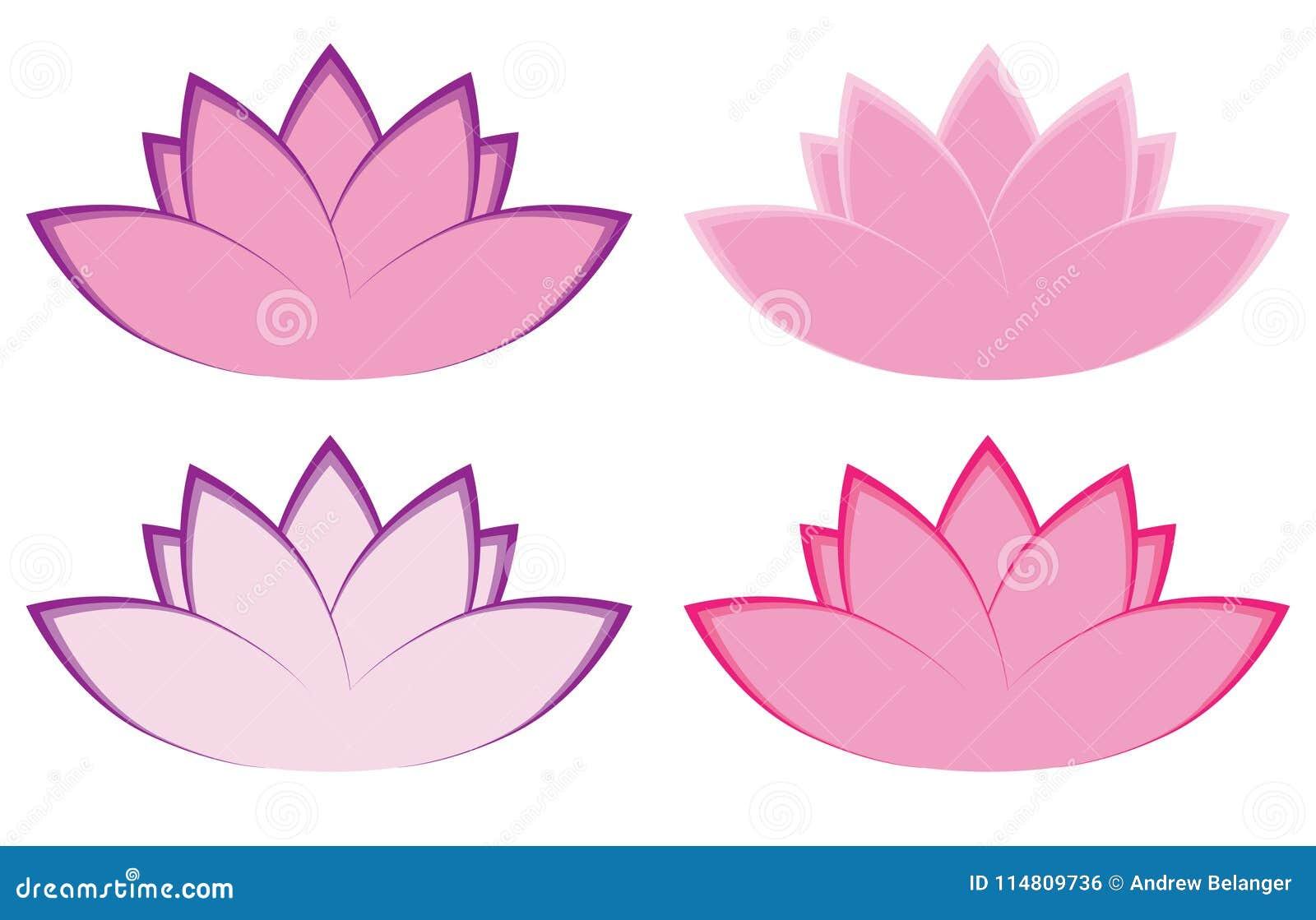 Lotus flower illustrations stock illustration illustration of clean lotus flower illustrations izmirmasajfo