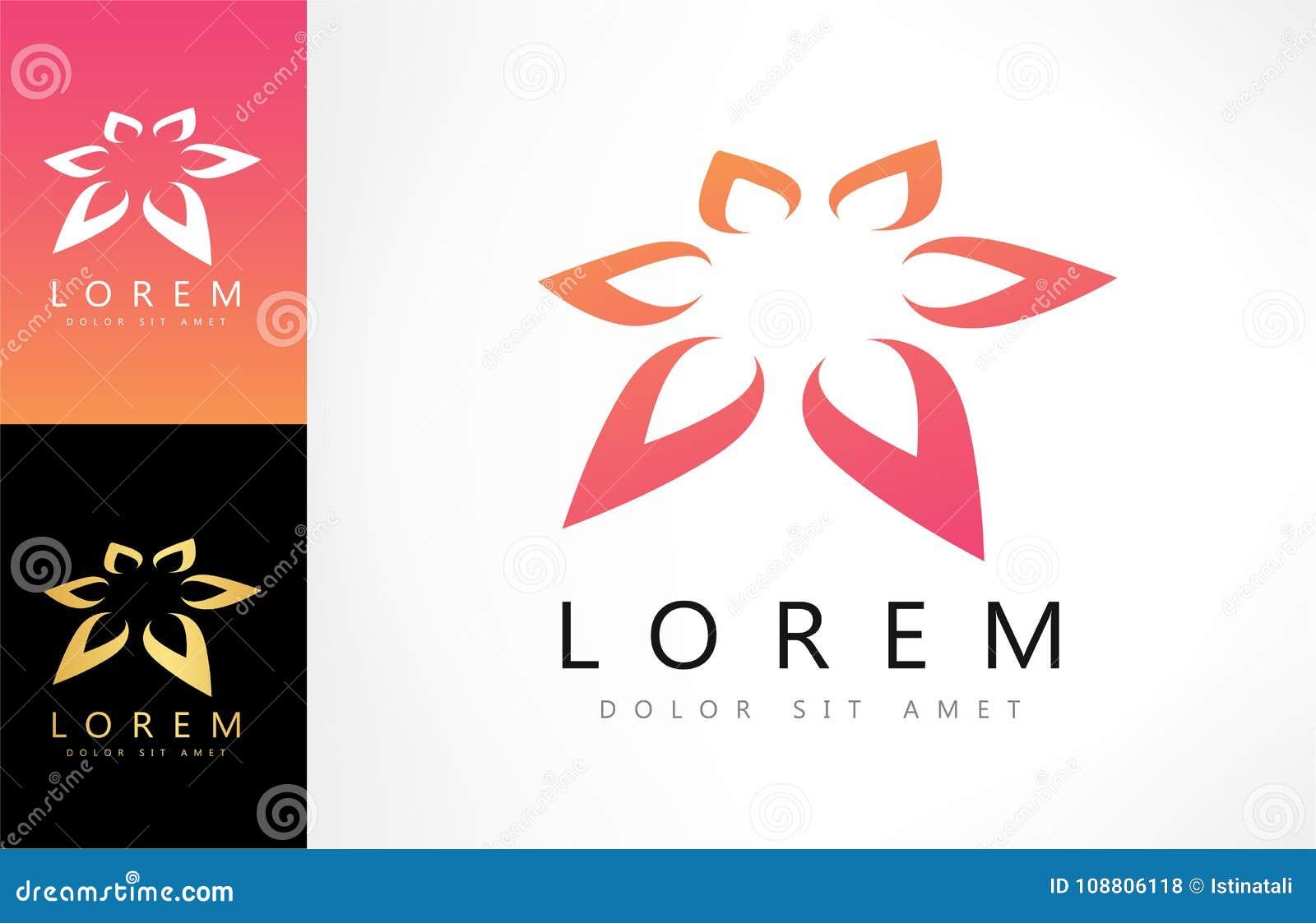 Lotus flower logo stock vector illustration of beauty 108806118 download lotus flower logo stock vector illustration of beauty 108806118 izmirmasajfo