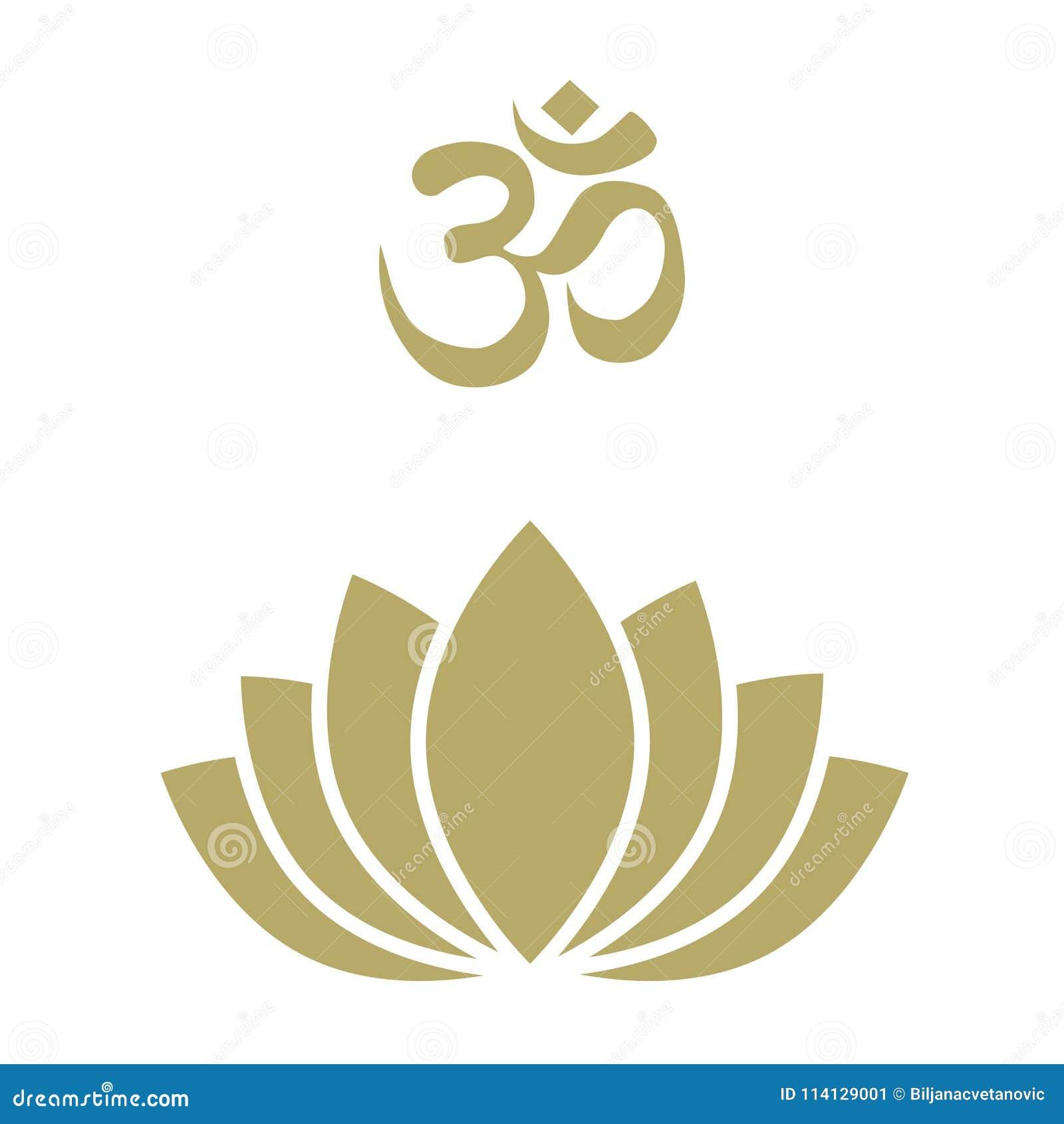 Lotus Flower Logo Stock Vector Illustration Of Cosmetics 114129001