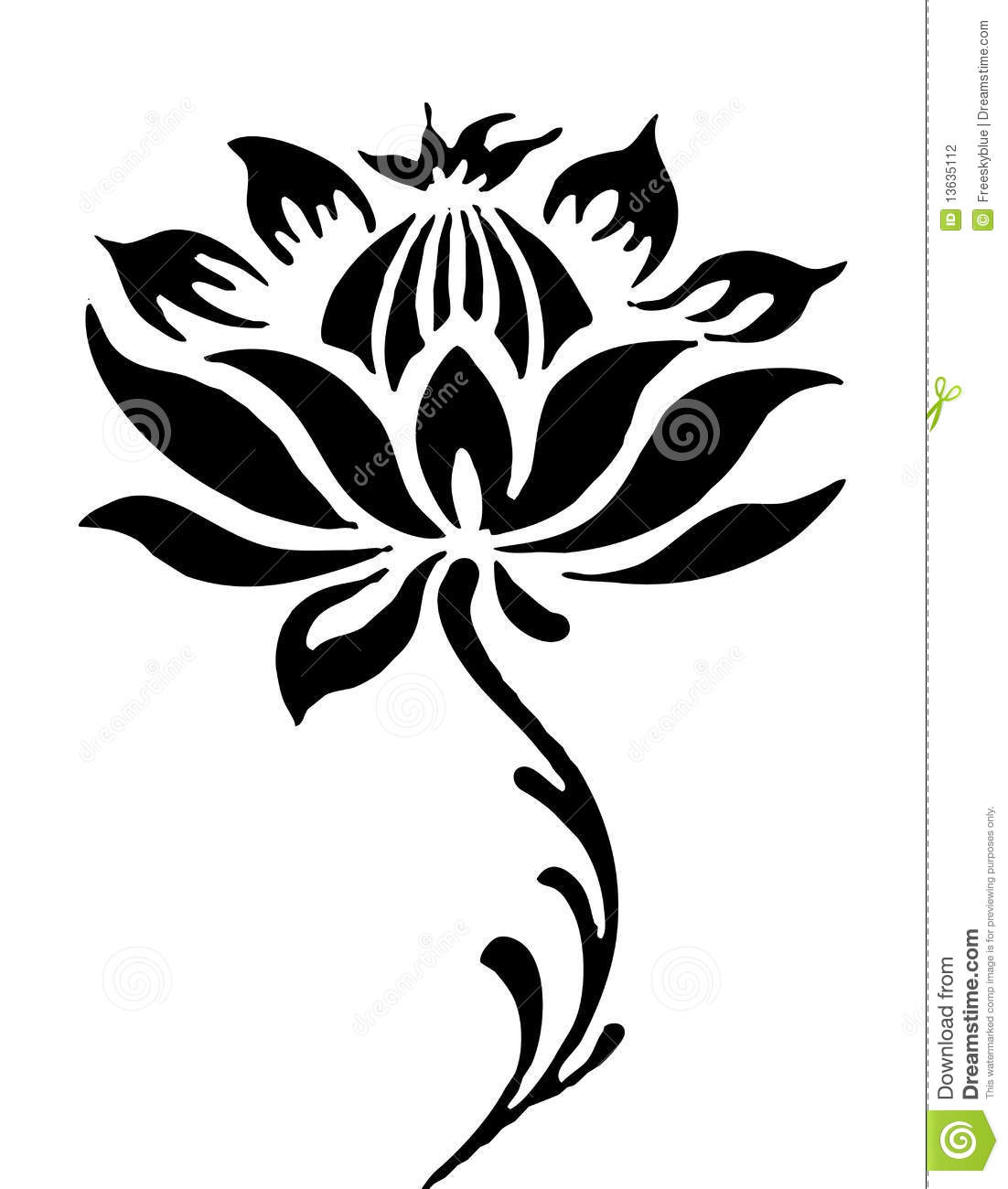 Lotus Flower Buddha Drawing Comousar