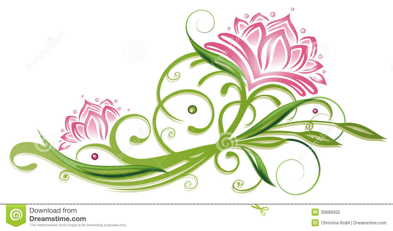 lotus flowers stock photo image of nature  lifestyle filigree clip art designs filigree clipart images
