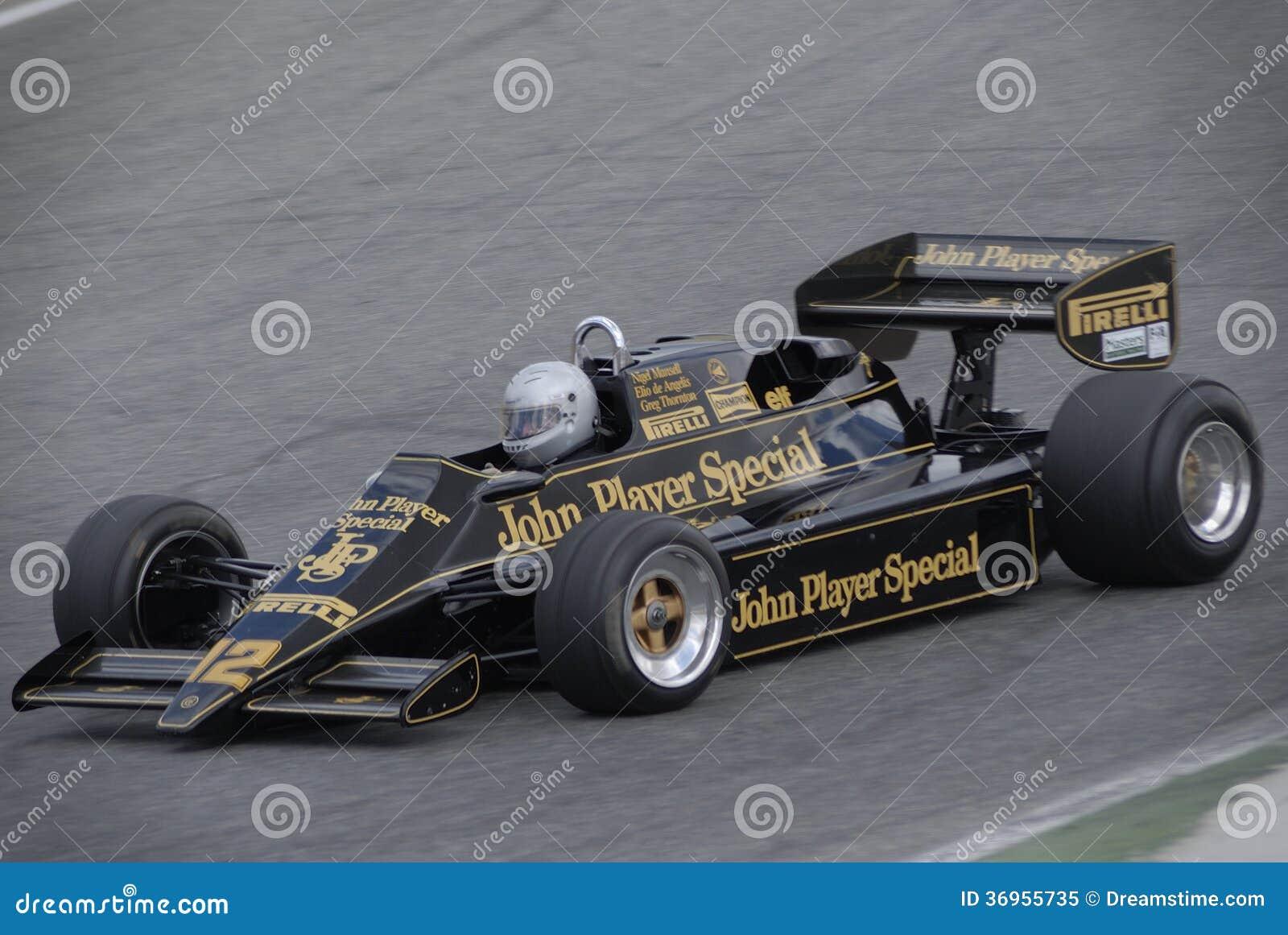 Lotus Jsp Formula One Mansell De Angelis Thornton