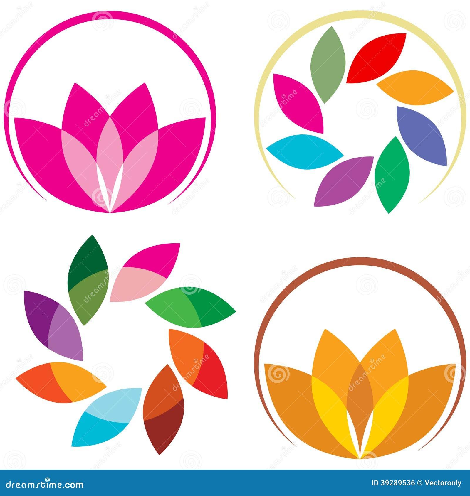 Lotus Logo Stock Vector Image 39289536