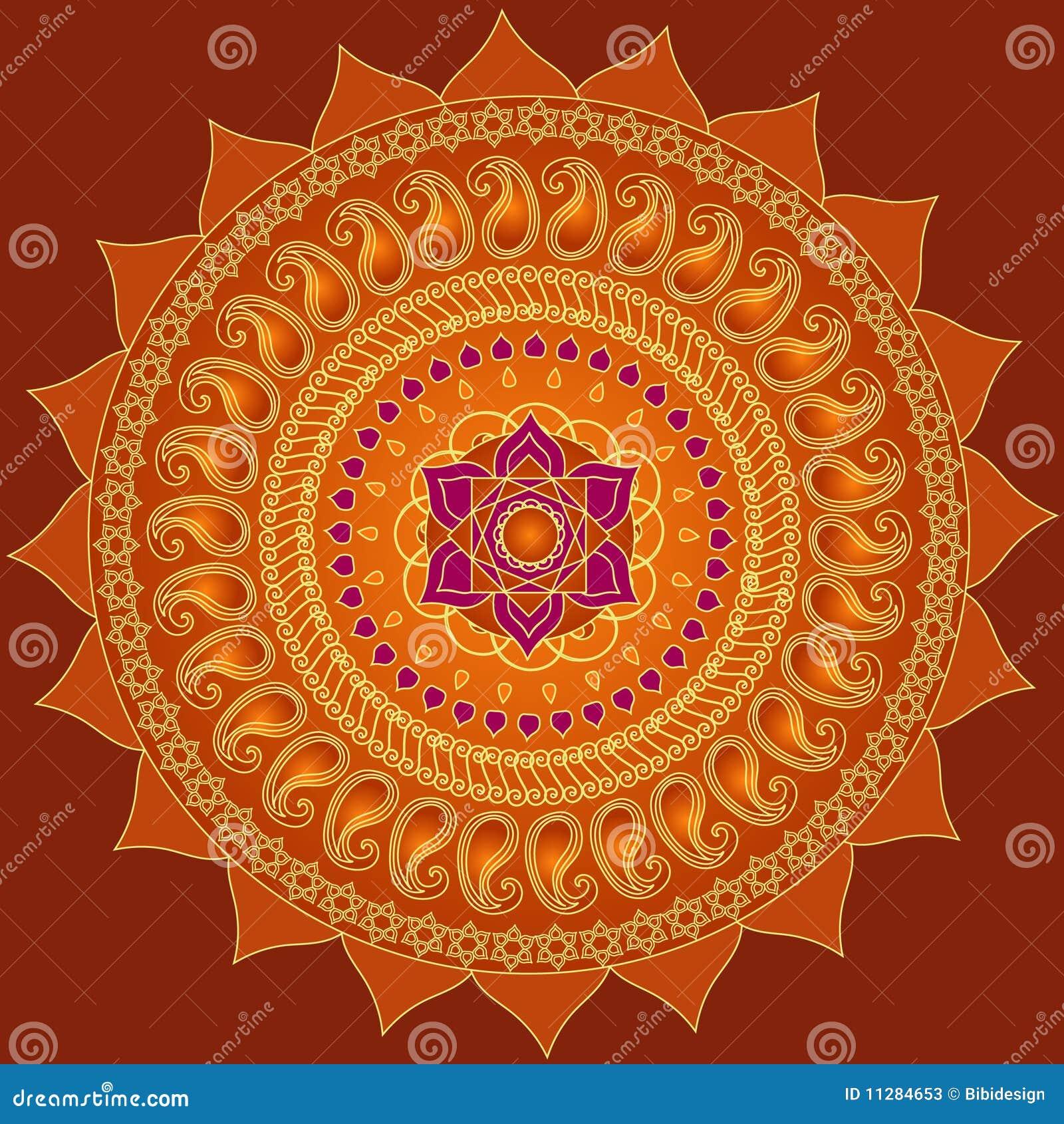 Lotus Mandala Stock Illustrations 8218 Vectors Clipart