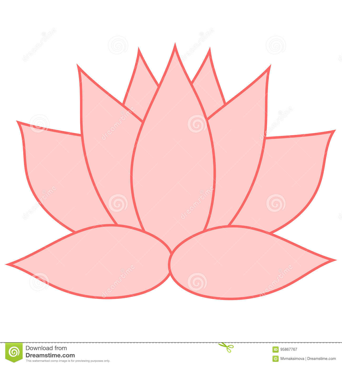 Lotus The Pink Flower Is A Symbol Of Purity And Enlightenment You