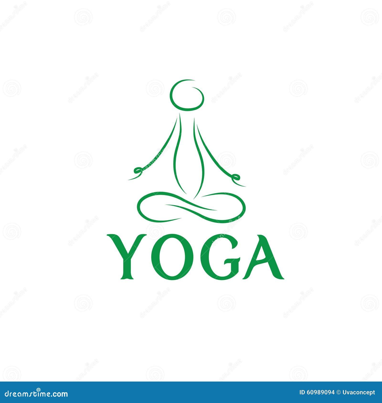 Line Art Yoga : Lotus pose art stock vector illustration of mindfulness