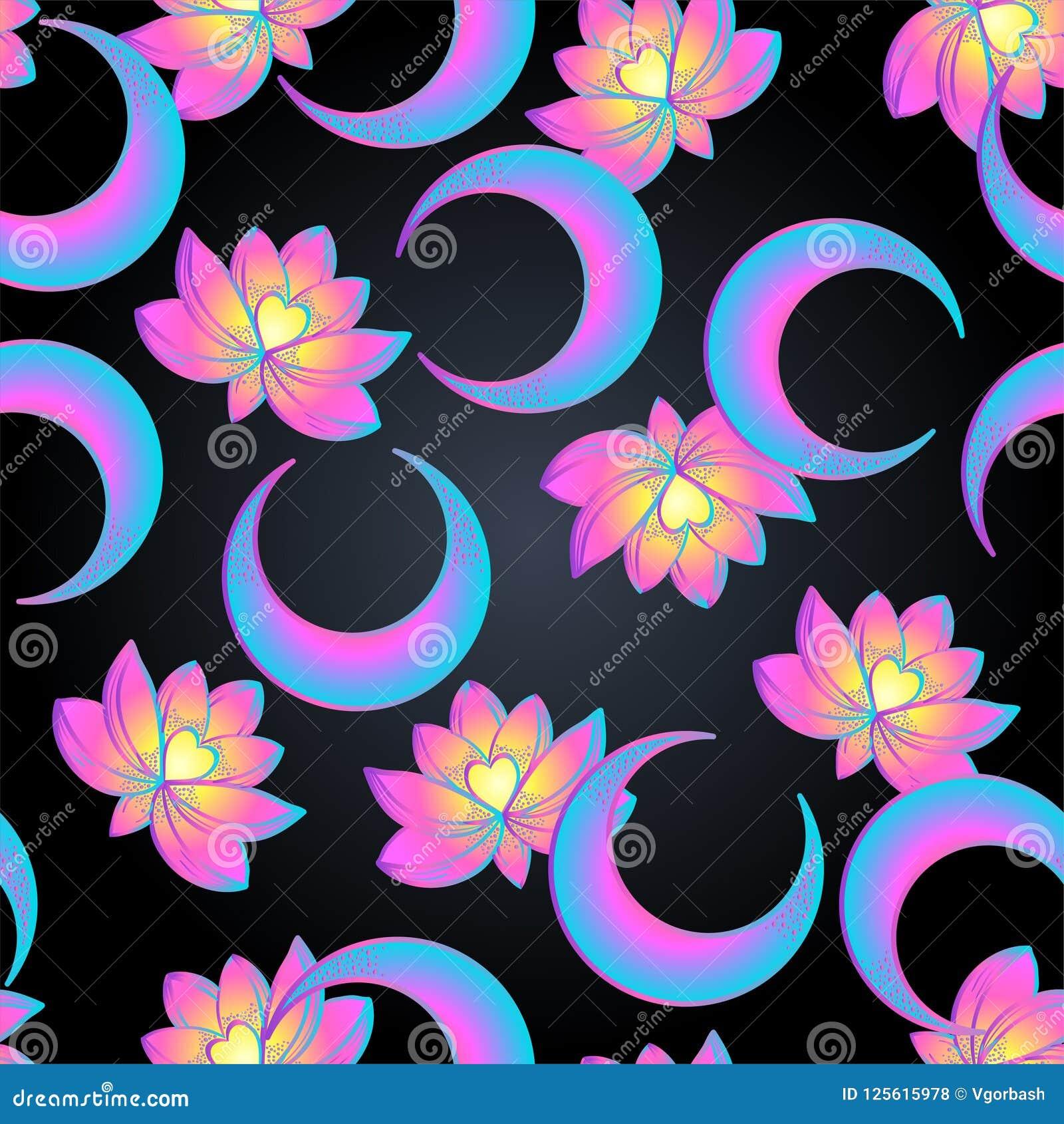 Lotus and sacred geometry seamless pattern unamole hindu symbo download lotus and sacred geometry seamless pattern unamole hindu symbo stock vector illustration mightylinksfo