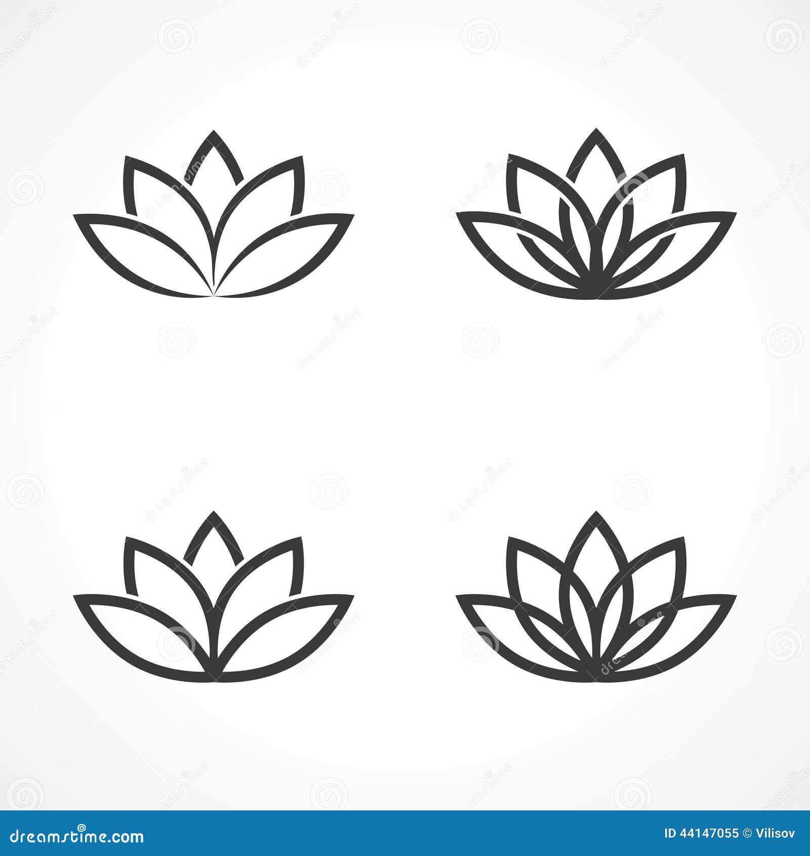 Lotus symbol stock vector illustration of beauty corporate 44147055 lotus symbol mightylinksfo Images