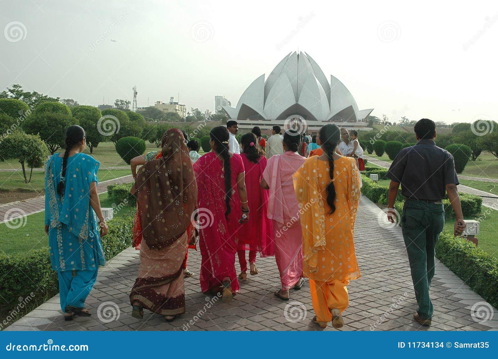 Lotus Temple In New Delhi India Editorial Stock Image