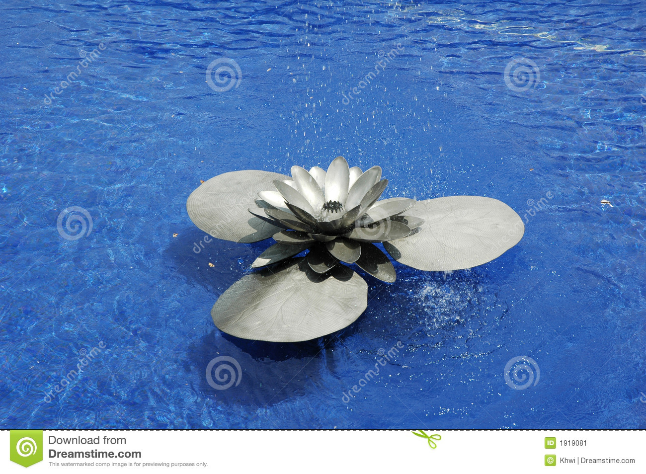 Lotus water fountain stock image image 1919081 royalty free stock photo download lotus water fountain dhlflorist Images
