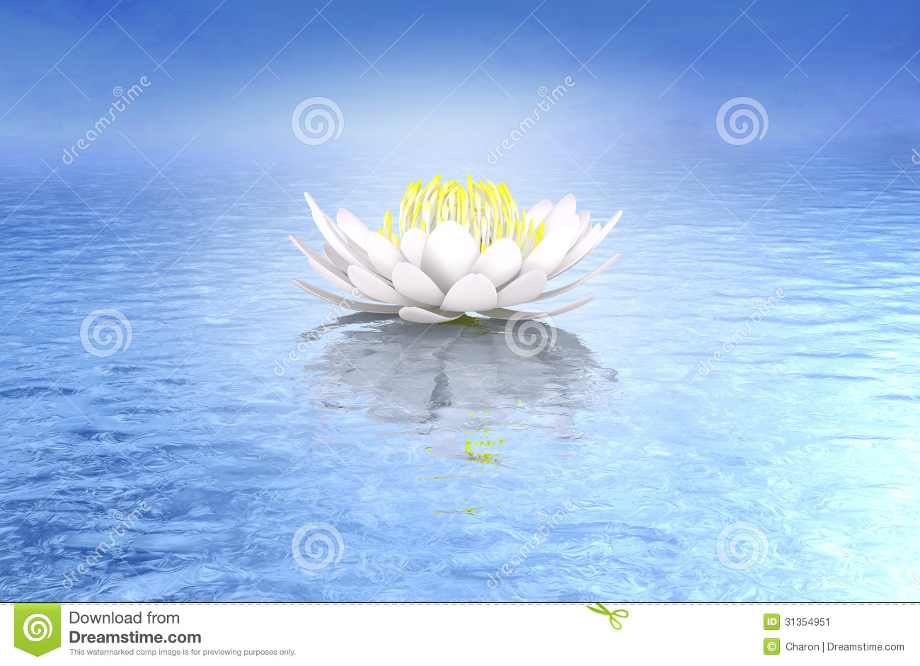 Lotus Flower Design Wall Paper : Lotus flower water lily ideal background stock image