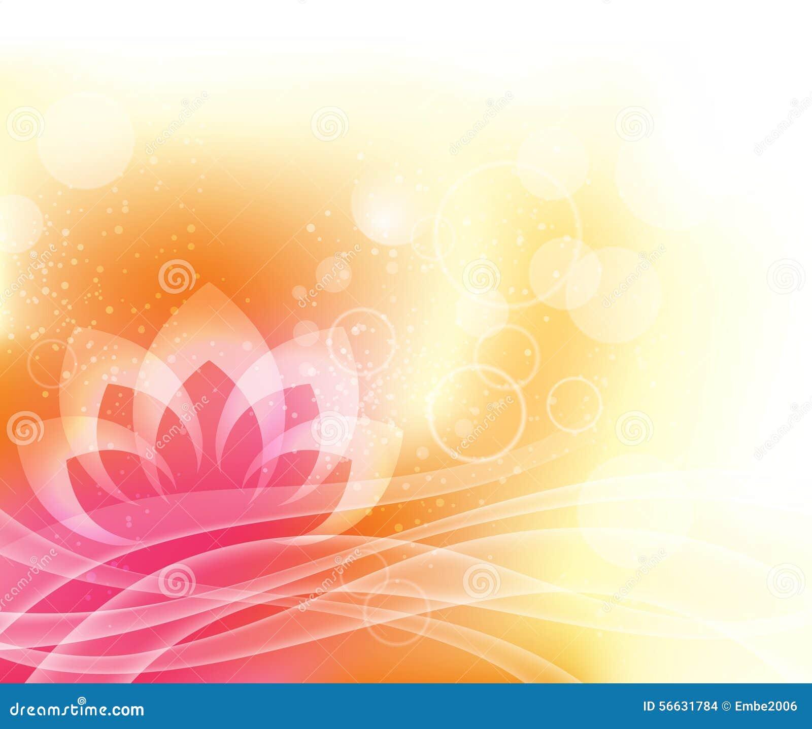 Lotus-Yogahintergrund