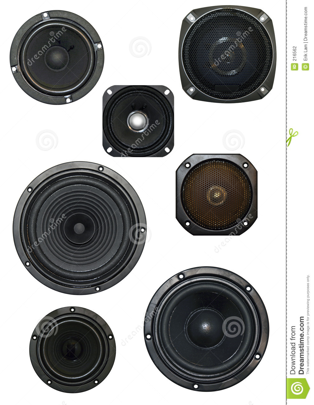Loudspeaker isolated