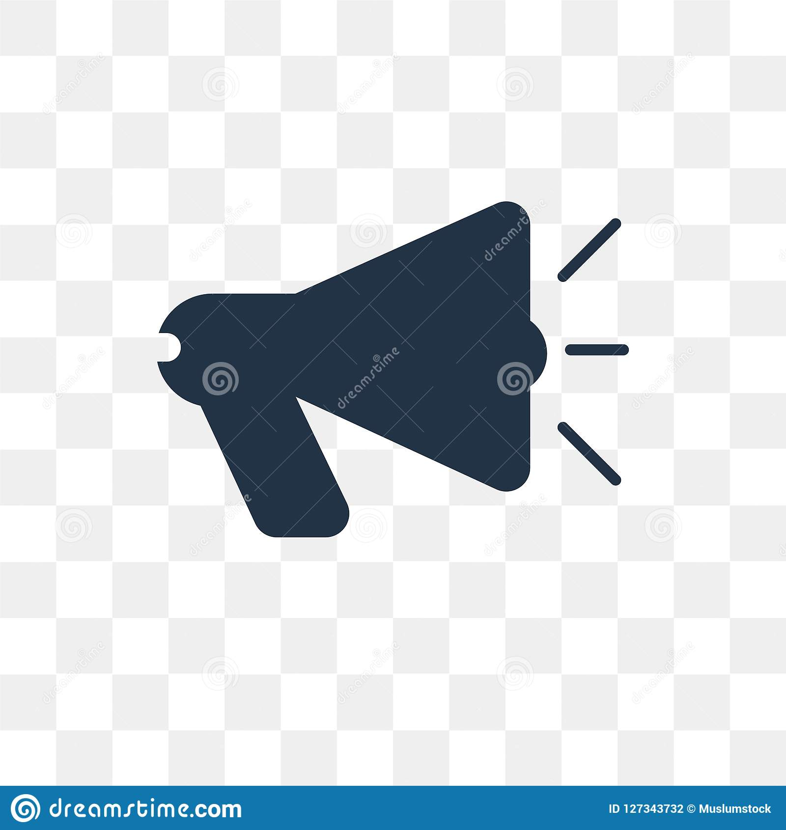 loudspeaker vector icon isolated on transparent background loud stock vector illustration of speaker megaphone 127343732 https www dreamstime com loudspeaker vector icon isolated transparent background loud transparency concept can be used web mobile image127343732