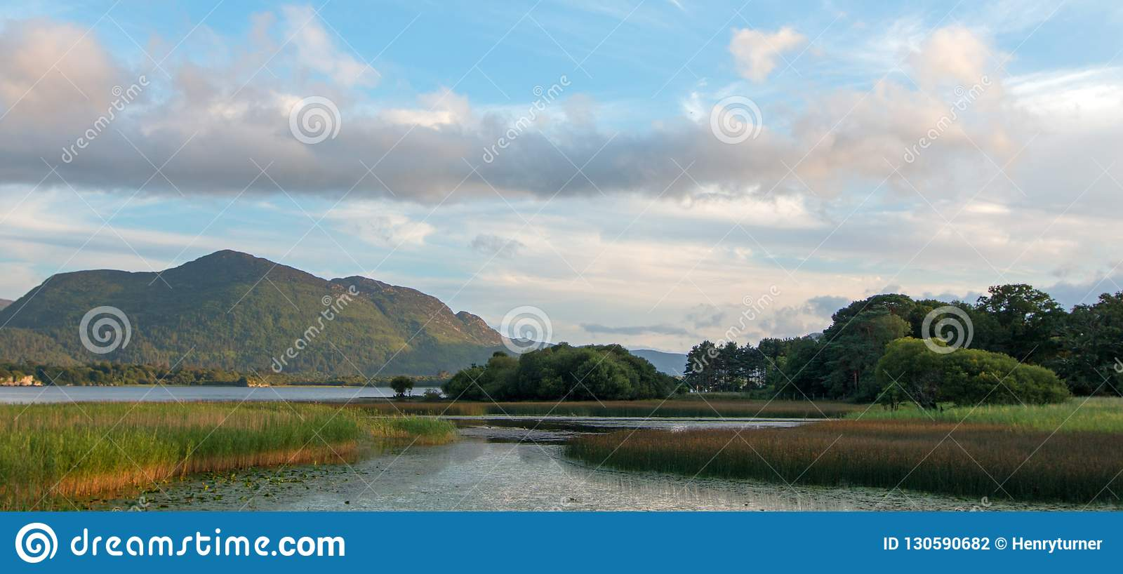 Lough Leane - Lake Leane - On The Ring Of Kerry At Killarney