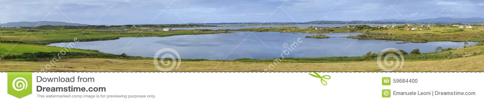Lough Neagh vicino all isola di Derrywarragh, contea Armagh, Irlanda del Nord,