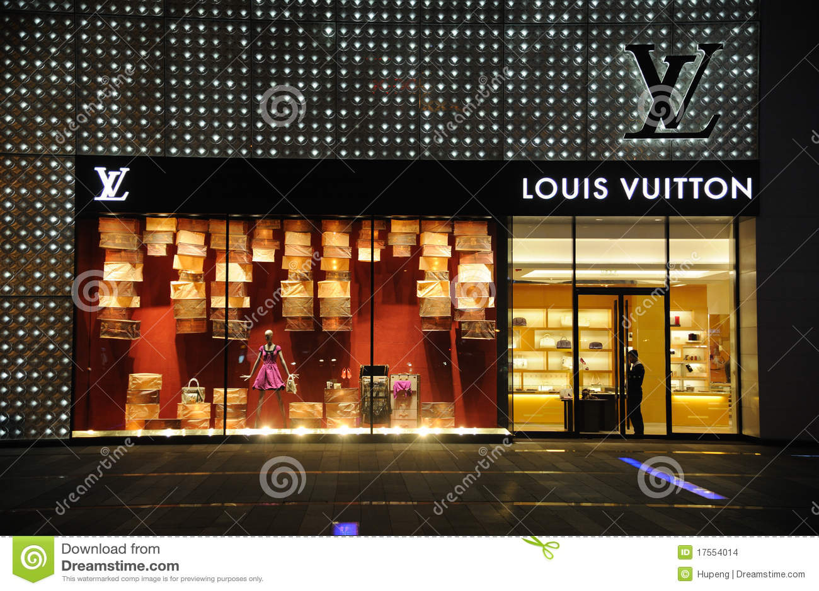 Louis vuitton arbeiten butike im chengduï ¼ sichuanï ¼ chinaã um