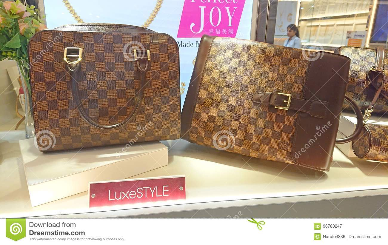 aa6cd59587b1 Louis Vuitton bags editorial photography. Image of financial - 96780247