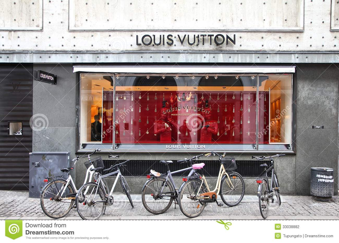 Louis Vuitton Boutique Editorial Photography Image Of