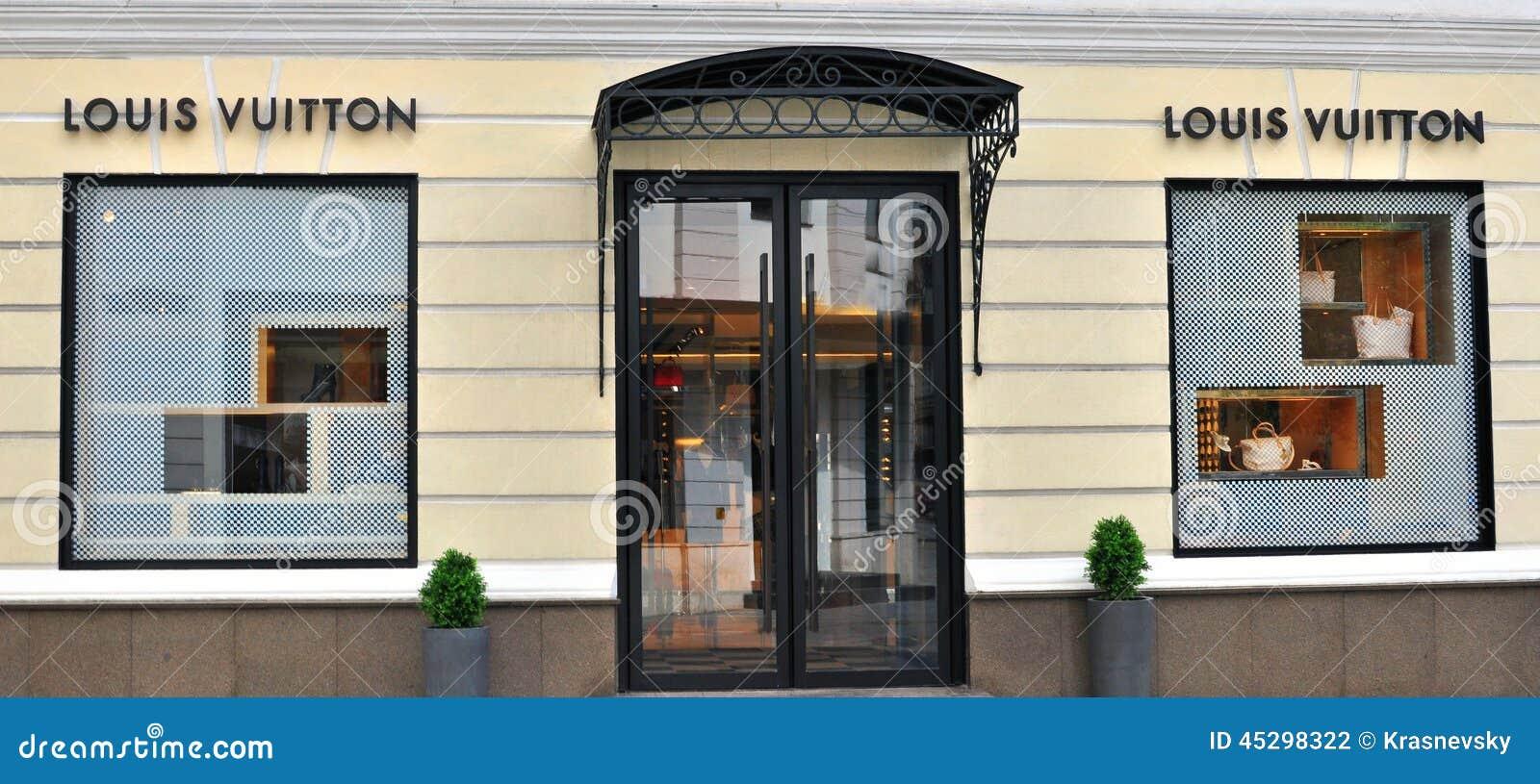 louis vuitton boutique editorial photography image 45298322