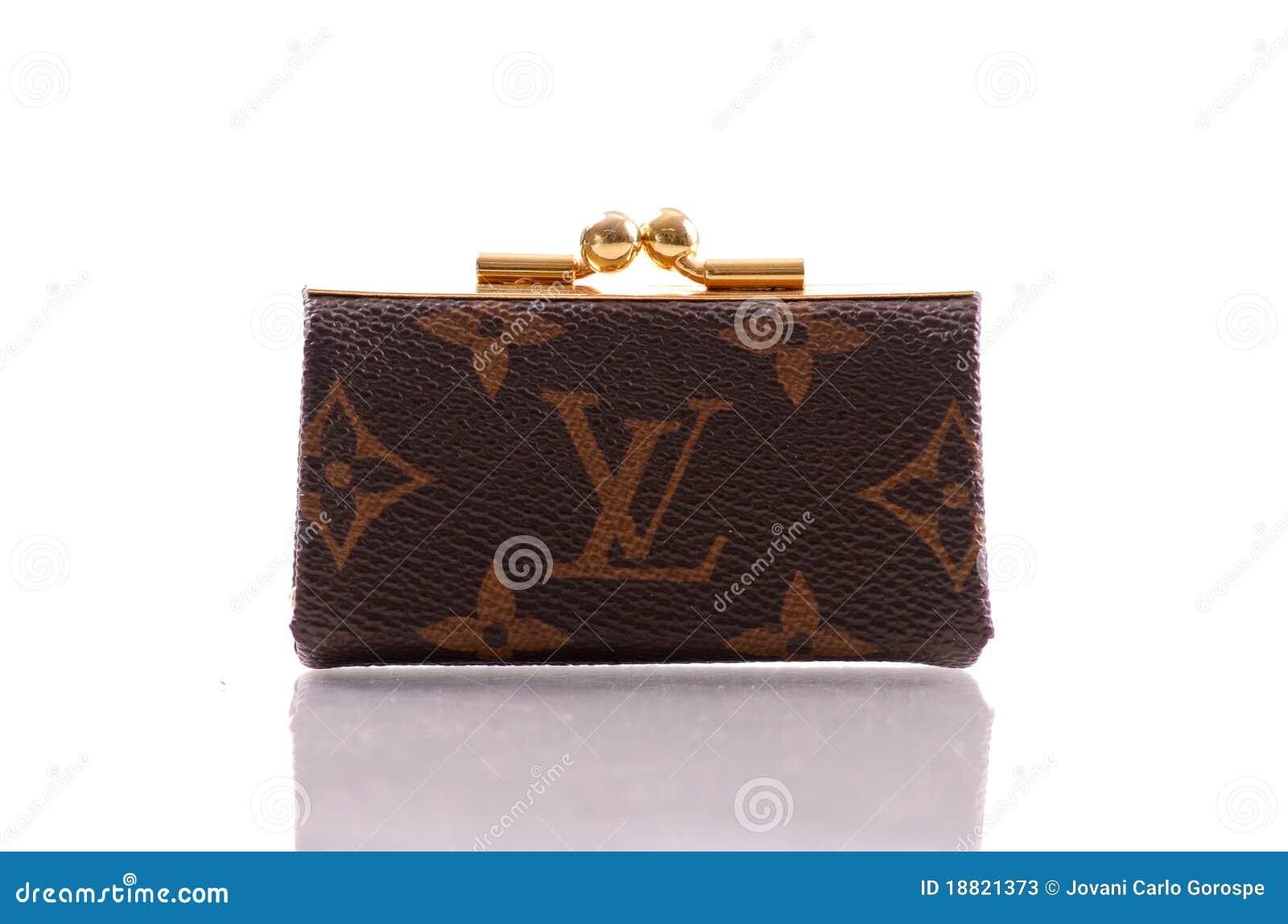 Louis Vuitton Coin Purse Editorial Stock Photo Image Of