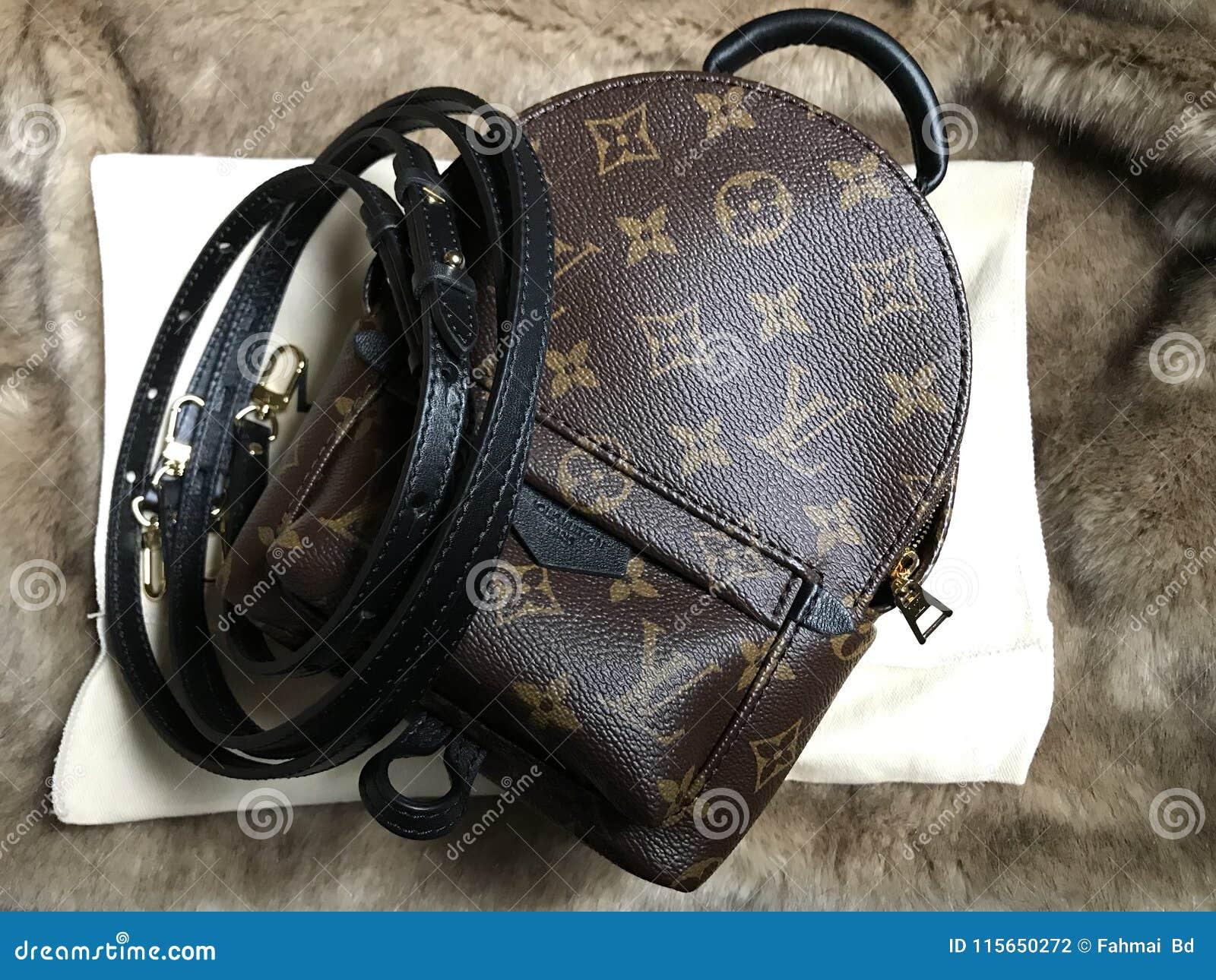 Louis Vuitton Mini Palm Spring Luxury Shoppingbag In Monogram ... 138824d39c4e9