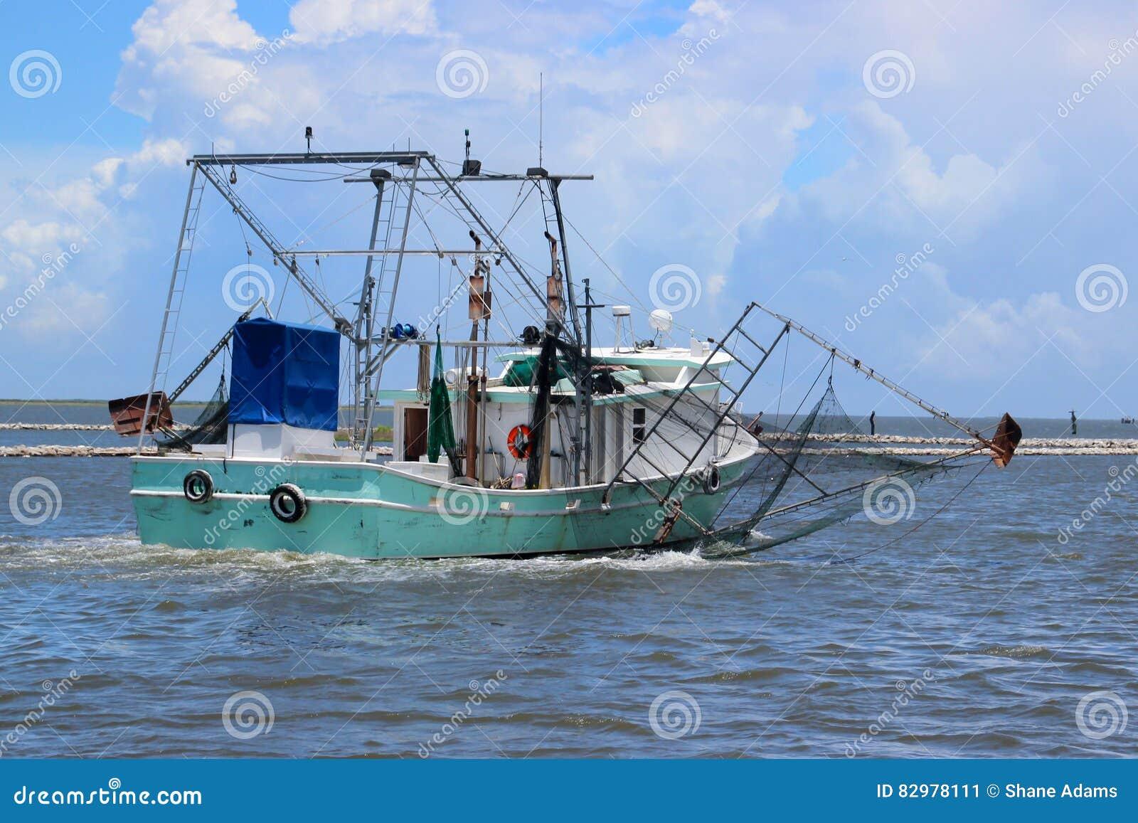 Louisiana-Garnelen-Boot