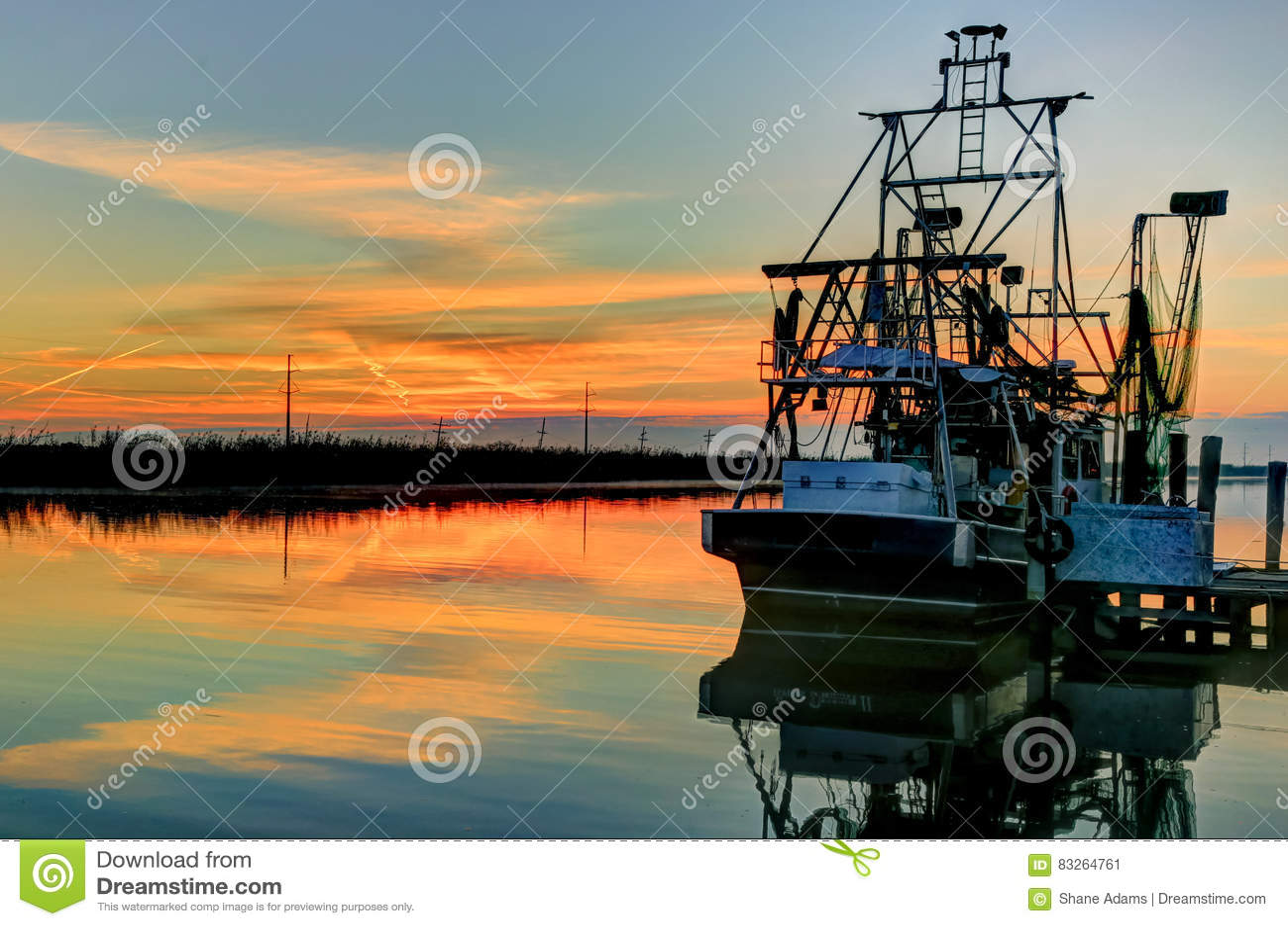 Louisiana-Garnelen-Boot HDR
