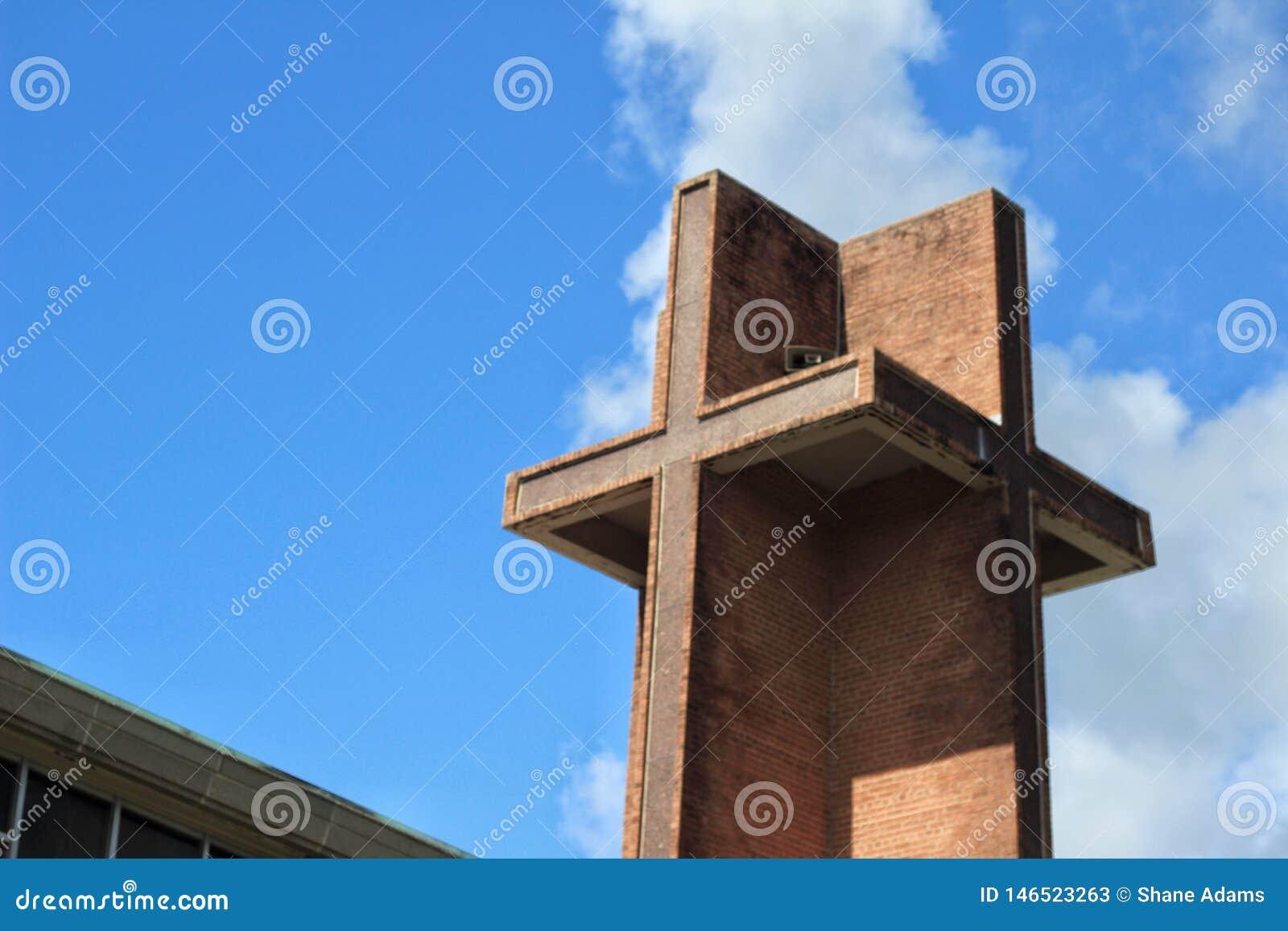 Louisiana-Kirchen-Kirchturm