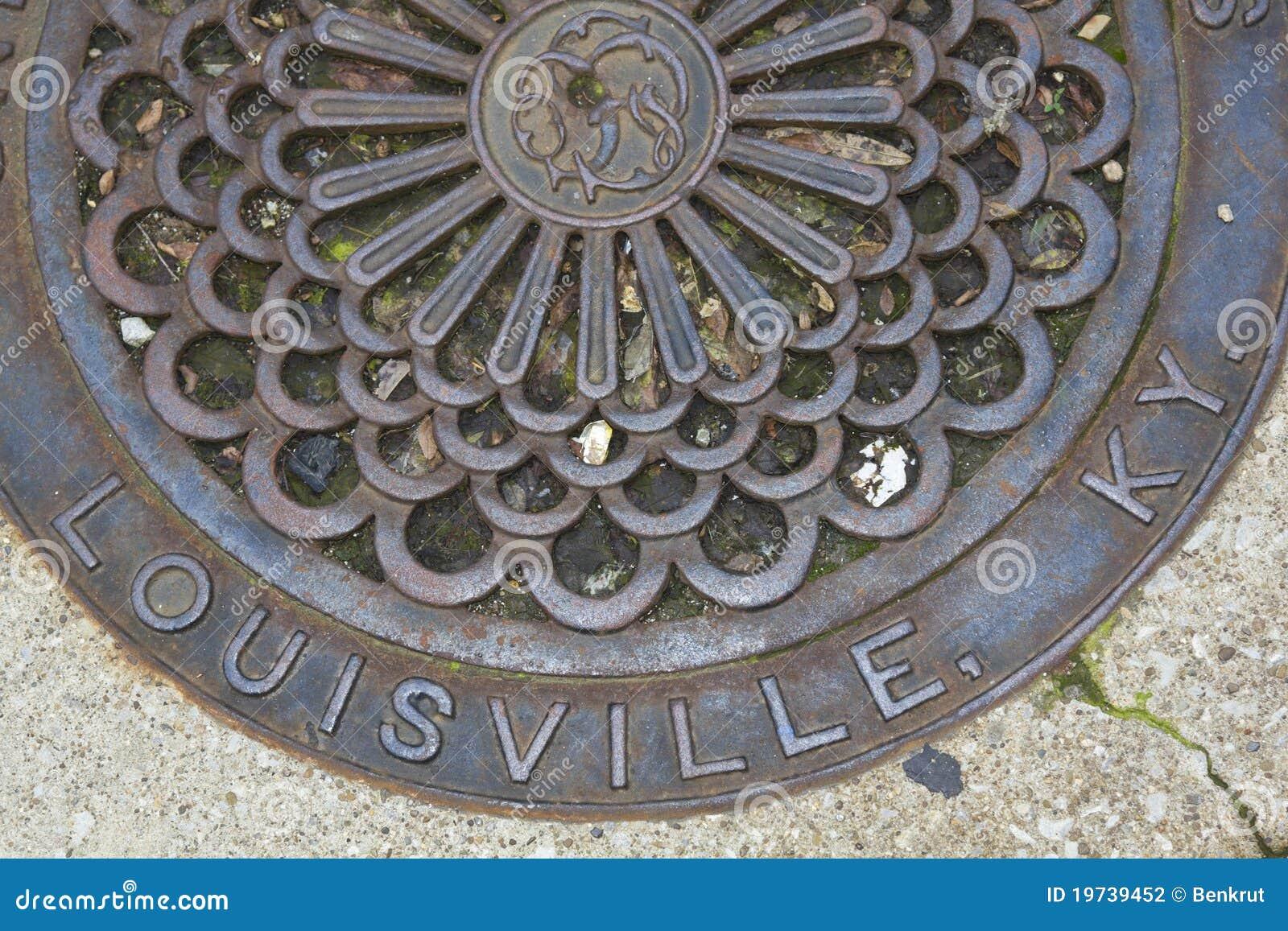 Louisville - cache de trou d homme