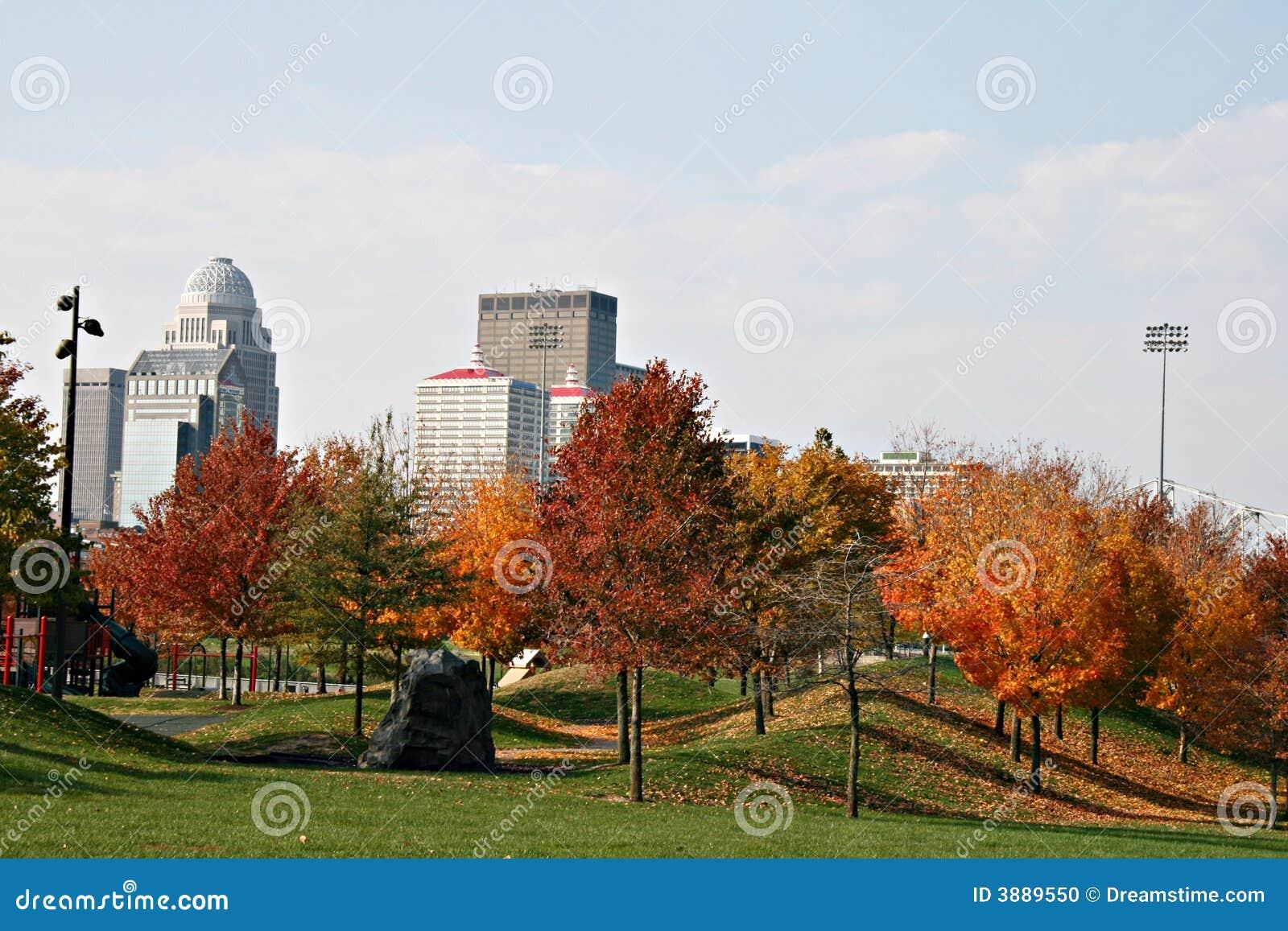 Louisville Kentucky nella caduta