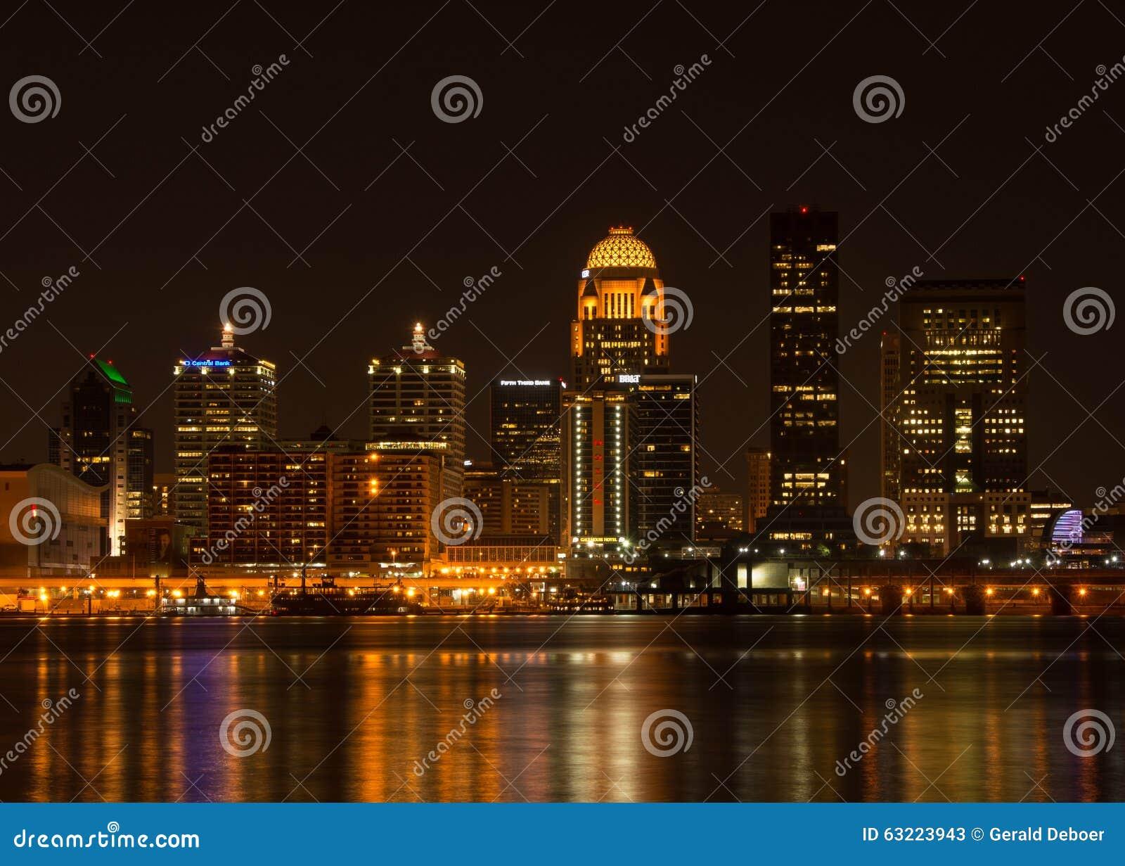 Louisville på natten