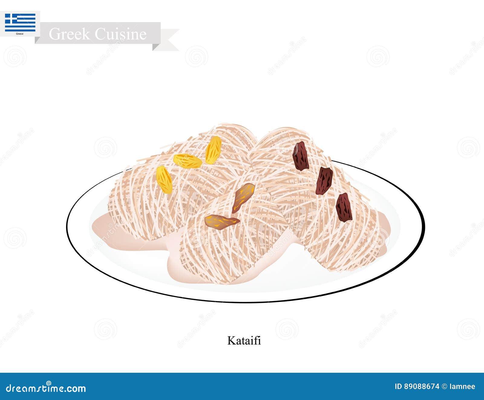 Loukoumades eller grekiska efterrättbollar med söt sirap