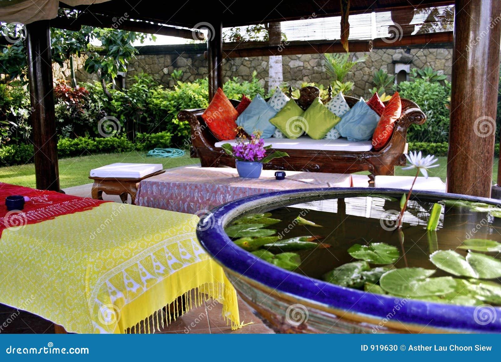 Lounge balinese zewnętrznego