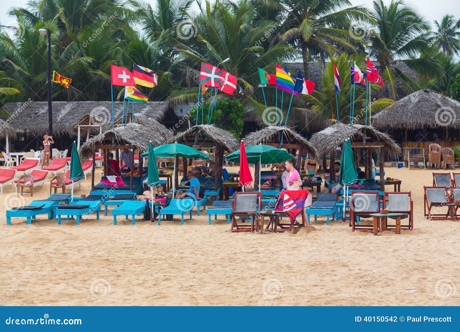 Hikkaduwa Sri Lanka  city photo : HIKKADUWA, SRI LANKA FEBRUARY 20, 2014: Lounge bar at Hikkaduwa ...