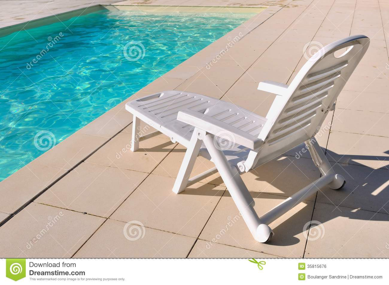 Pool Chair Clipart Lounge chair for relaxation